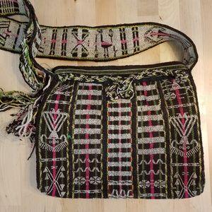 Tribal Woven Peruvian Bag